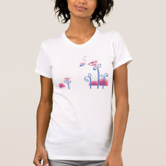 Supergirl Love Bee T Shirts