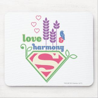 Supergirl Love & Harmony Mousepad