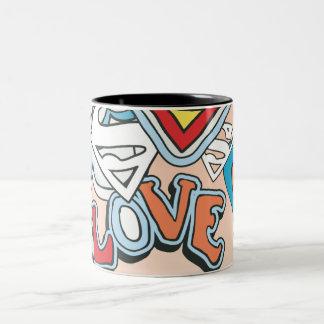 Supergirl Love Mugs