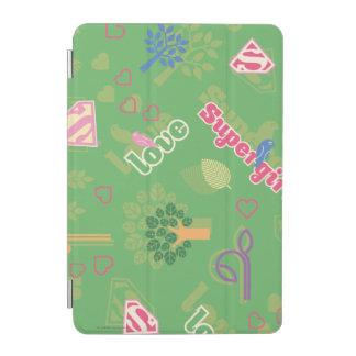 Supergirl Love Pattern iPad Mini Cover