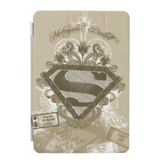 Supergirl Metropolis Ballet Brown iPad Mini Cover