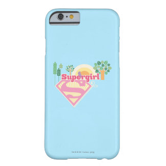 Supergirl Nature Logo Barely There iPhone 6 Case