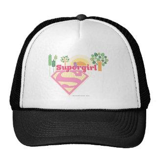 Supergirl Nature Logo Trucker Hat