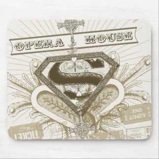 Supergirl Opera House Mouse Pad