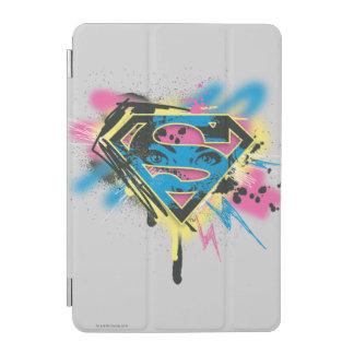 Supergirl Paint and Spills iPad Mini Cover