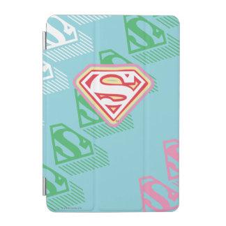 Supergirl Pastel  Repeat Pattern iPad Mini Cover