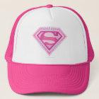 Supergirl Pink Logo Trucker Hat