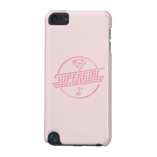 Supergirl Pink Music Note iPod Touch (5th Generation) Cover