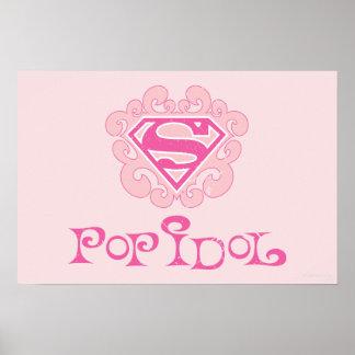 Supergirl Pop Idol Posters