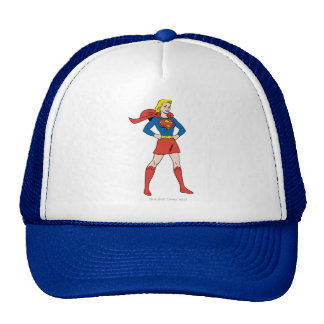 Supergirl Pose 7 Trucker Hat
