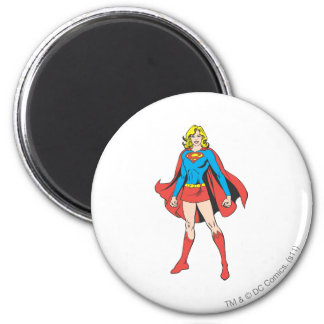 Supergirl Poses Fridge Magnets