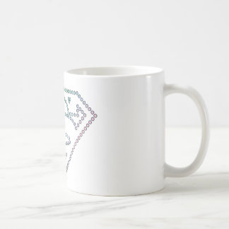 Supergirl Rainbow Outline Logo Coffee Mug