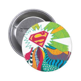Supergirl Random World 3 2 Inch Round Button