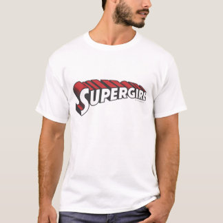 Supergirl Red and White Logo T-Shirt