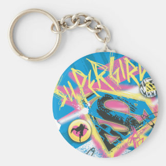Supergirl Rocks Keychain
