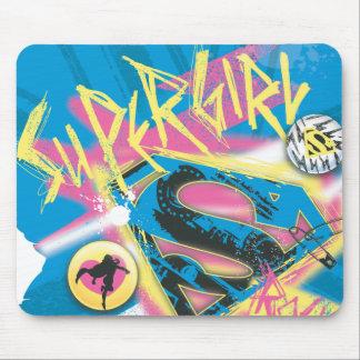 Supergirl Rocks Mouse Pad