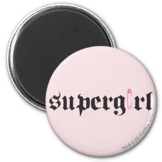 Supergirl Safety Pin Letter Fridge Magnets