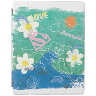 Supergirl Share the Spirit & Love iPad Cover