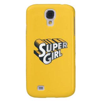 Supergirl Silver and Orange Logo