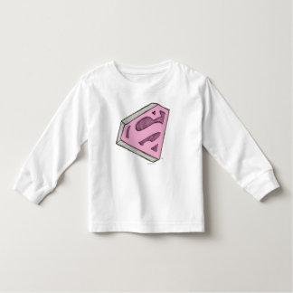 Supergirl Sketched Pink Logo Toddler T-shirt