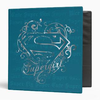 Supergirl Super Fly Super Cute 3 Ring Binders
