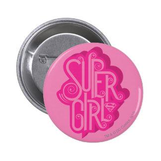 Supergirl Swirl 2 Pins