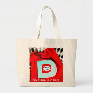 SUPERHERO BAG/TOTE LARGE TOTE BAG