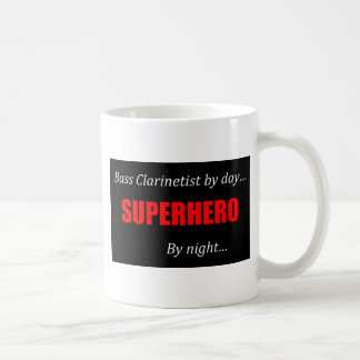 Superhero Bass Clarinet Coffee Mug