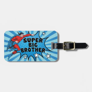 Superhero Becoming a Big Brother Luggage Tag