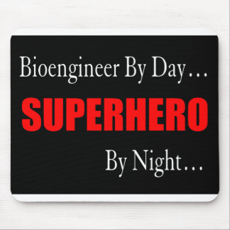 Superhero Bioengineer Mouse Pad
