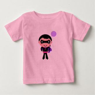 Superhero boy : Designers pink Tshirt