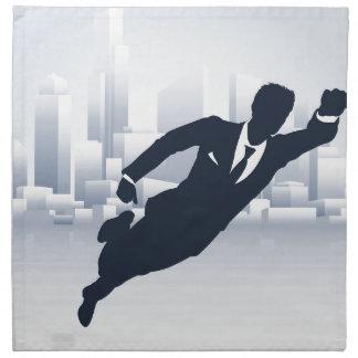 Superhero Business Man Napkin