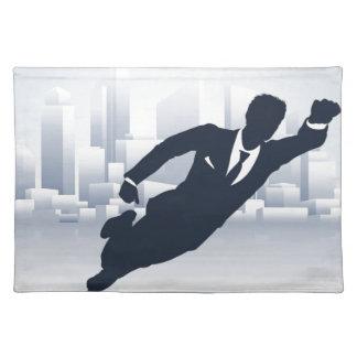 Superhero Business Man Placemat