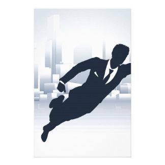 Superhero Business Man Stationery