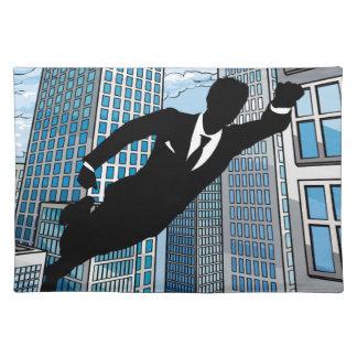Superhero Businessman Placemat