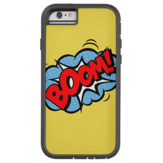 Superhero Comic BOOM! Iphone Case