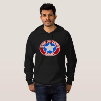 Superhero Daddy Fleece Pullover Hoodie