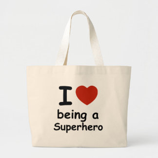 superhero design large tote bag