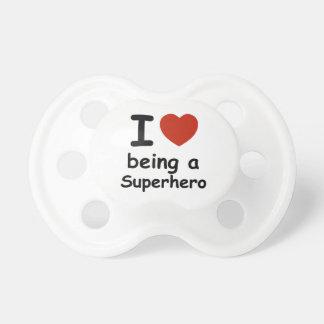 superhero design pacifiers