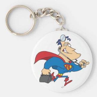 Superhero Doctor Keychain