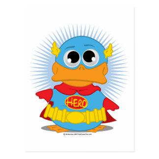 Superhero Duck Postcards