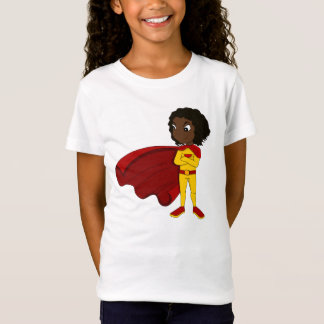 Superhero girl cartoon T-Shirt