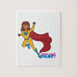 Superhero Girl Jigsaw Puzzle