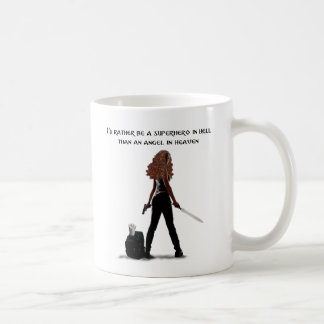 Superhero in Hell 11 oz Mug