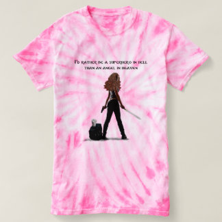 SUPERHERO IN HELLl (Dani) T-shirt