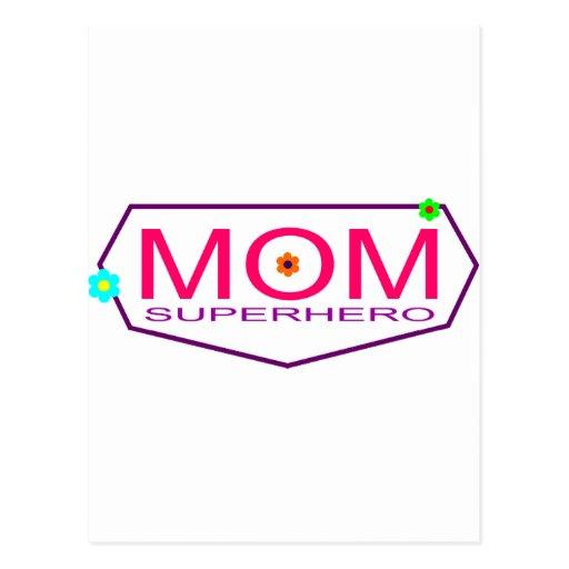 Superhero Mom Postcard