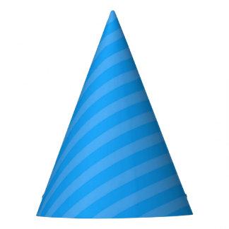 Superhero Party Hat - Blue Stripe
