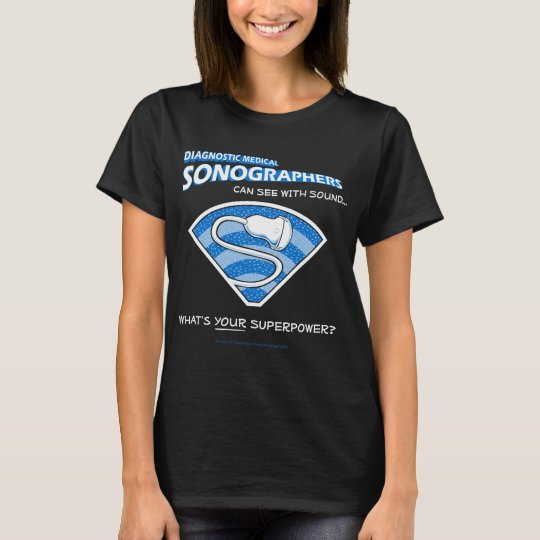 Superhero Sonographer Tee