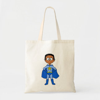 superhero tote bag for kids whimsical character