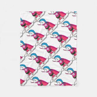 Superhero Unicorn - unicorn superhero Fleece Blanket